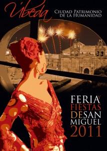 cartel feria 2011 214x300 - Feria y Fiestas de San Miguel. Ubeda 2011