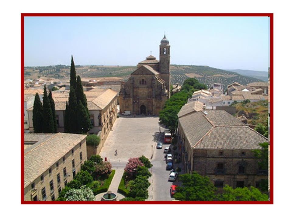 Vistas Plaza Vazquez de Molina - 2º Premio Ciudades Patrimonio. Úbeda