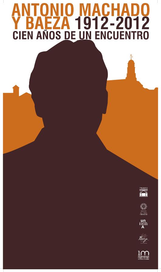 Cartel del centenario de Antonio Machado y Baeza