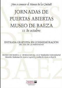 jornadas puertas abiertas en museo de Baeza