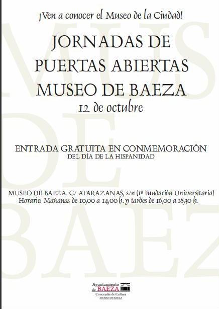 entrada libre museo baeza