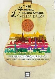 cartel festival de música antigua de Ubeda y Baeza