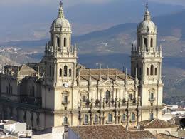 Portada de la Catedral de Jaén