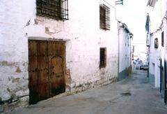 Portada de la Casa de la Inquisición en Villacarrillo