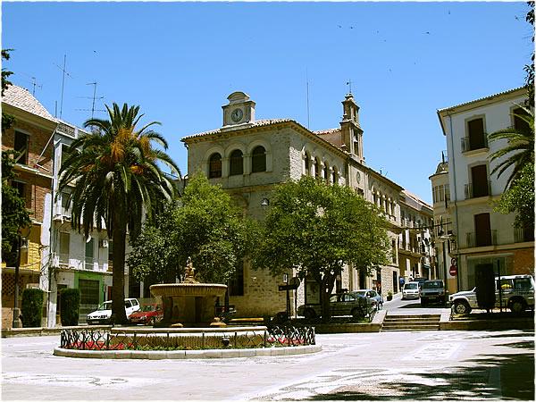 Plaza en Villacarrillo