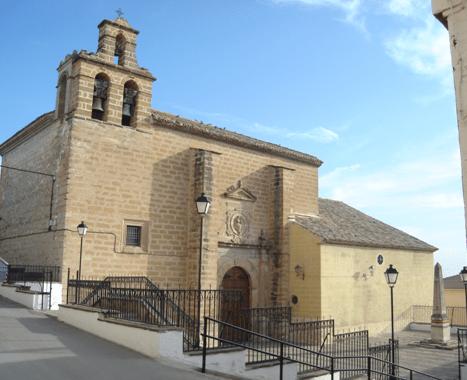 iglesia encarnación jabalquinto - Jabalquinto, señorío de Benavides