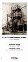 Cartel Exposicion Wenceslao - WENCESLAO ROBLES ESCUDERO EN BAEZA.