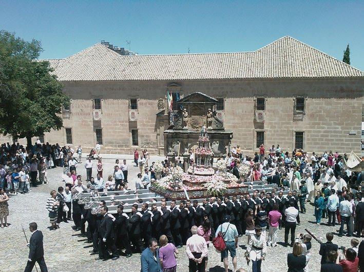 corpus10 k - Custodia procesional, Catedral de Baeza
