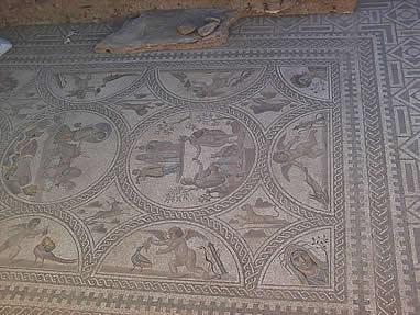 castulo mosaico - Cástulo