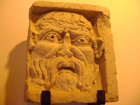 Cabeza de Sileno, Museo Arqueologico de Ubeda
