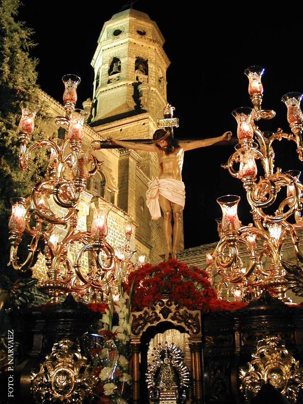 Cristo de la Sangre del barroco granadino