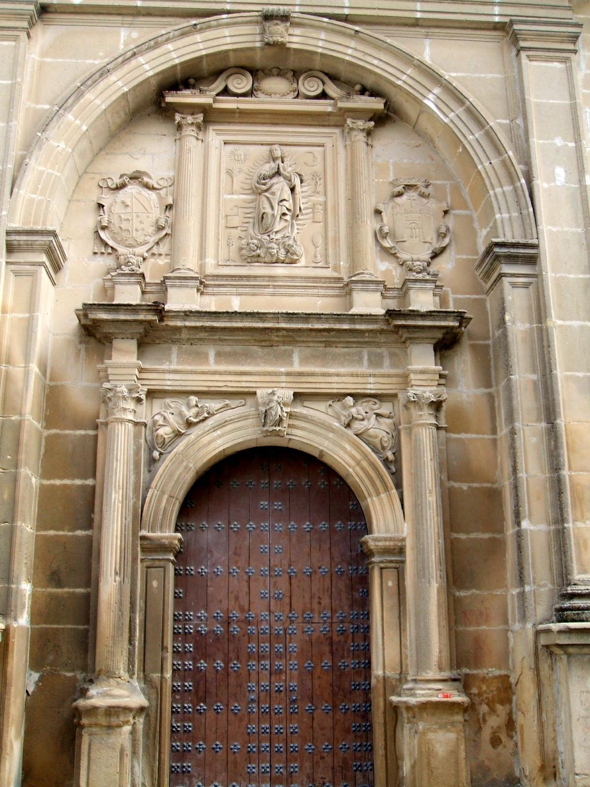 Fachada sudeste de la iglesia