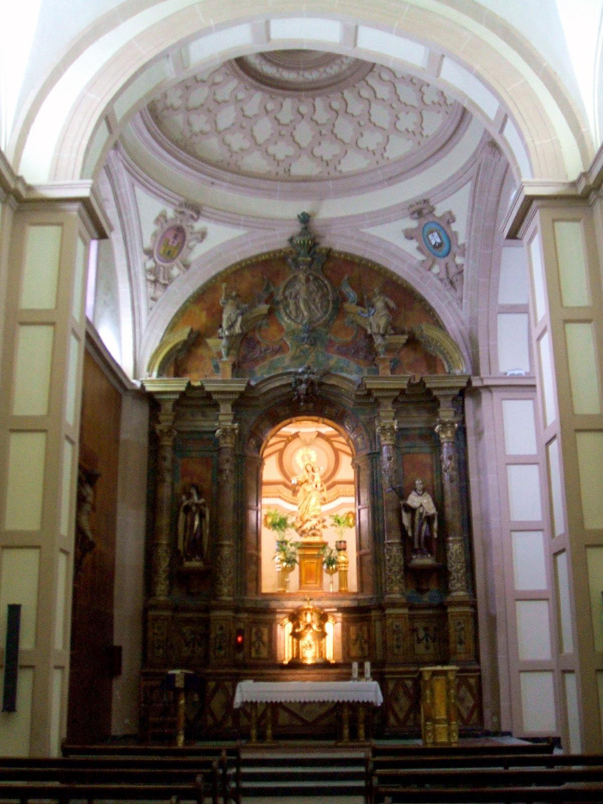 Retablo de la Iglesia en Baeza