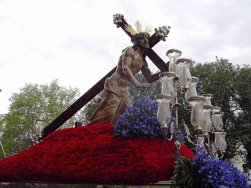 Cristo de la Caida de Mariano Benlliure en Úbeda