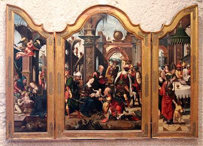 Triptico de la Adoración Baeza - Iglesia de San Pablo