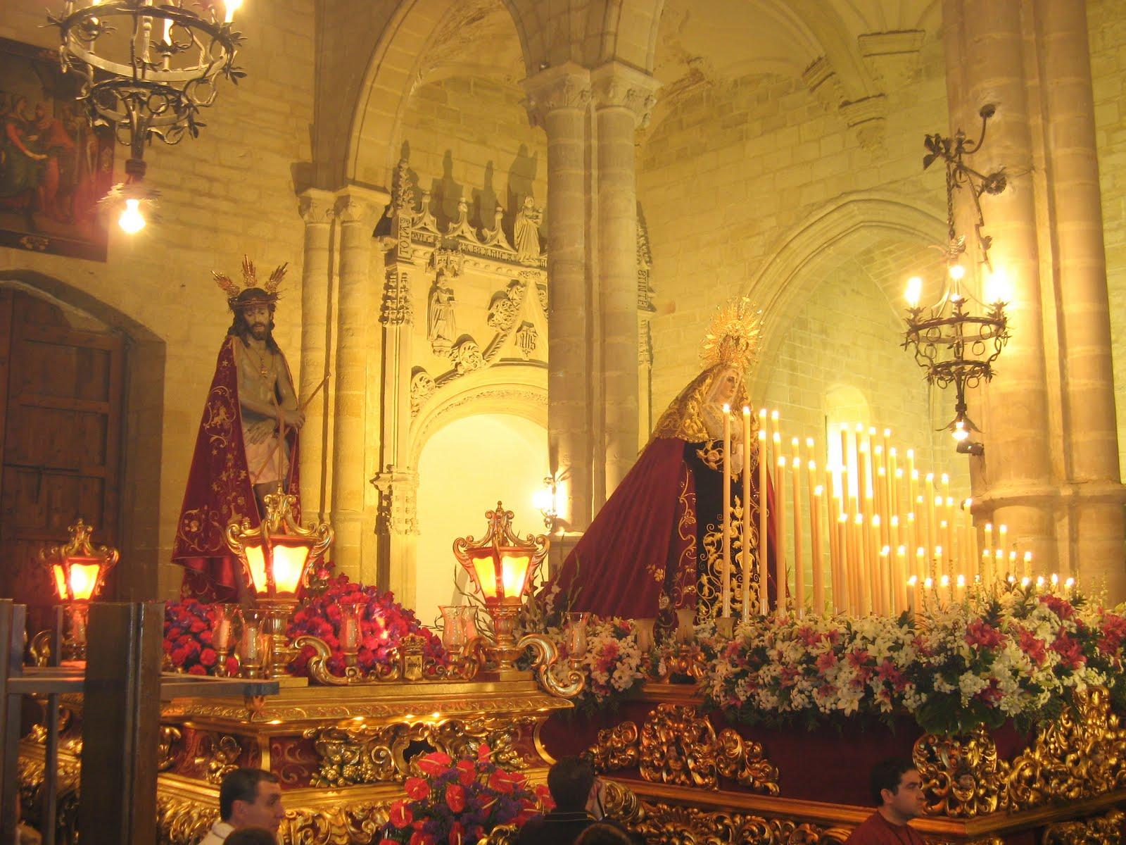 Pasos de la Humildad en en interior de San Pablo