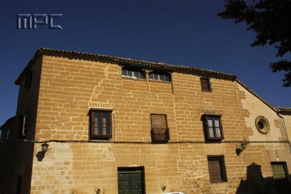 Fachada de la Casa del vicario en Baeza