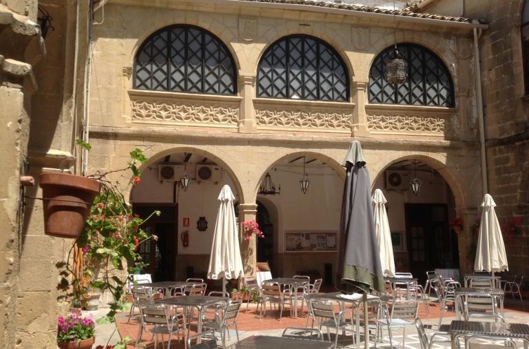 terraza casino - Palacio de Cerón