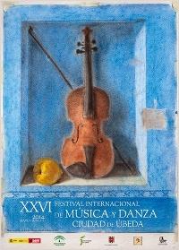 Cartel del festival de musica y danza