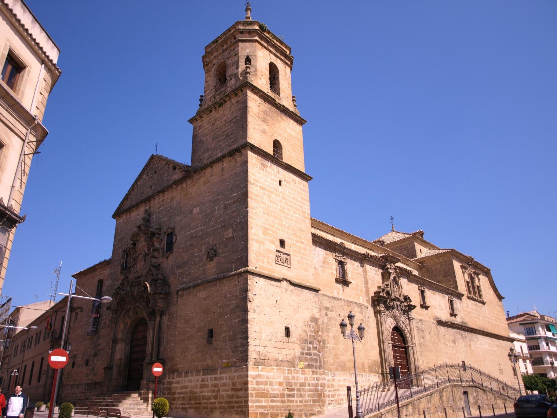 Exterior de la Iglesia y convento de la Santisima Tinidad