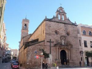 Fachada de la Iglesia de San Francisco Linares
