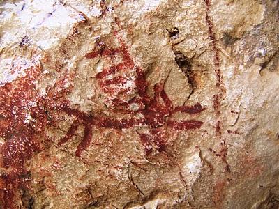 Pintura rupestre de Otiñar (Jaén)