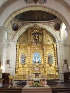 Interior de la iglesia de Ibros