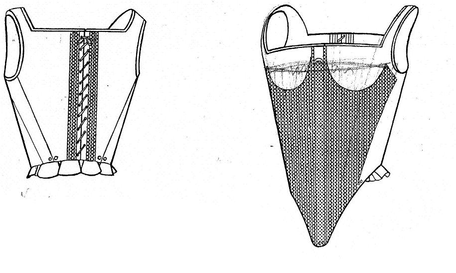 corset xvi - Vida femenina en S.XVI Úbeda y Baeza