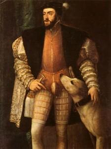 Carlos V 225x300 - Indumentaria y vida en el siglo XVI