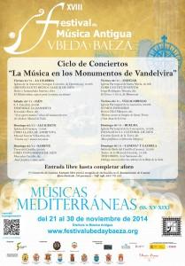 Ciclo Vandelvira 2014 209x300 - La Música en los monumentos de Vandelvira