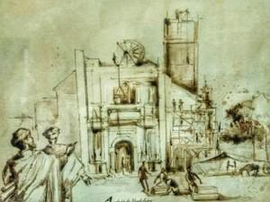 Construcción de la Sacra Capilla