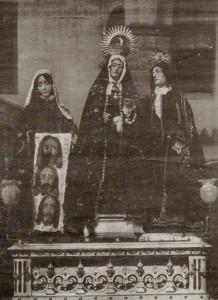 Grupo de san juan y la Veronica. jesus