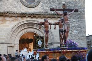 calvario2 300x200 - Semana Santa en el recuerdo; Baeza.