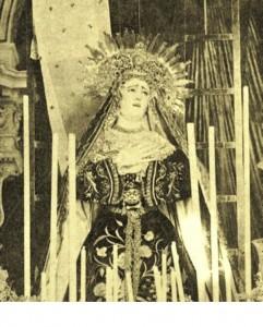 soledad hacia 1900 2 241x300 - Semana Santa en el recuerdo; Úbeda.