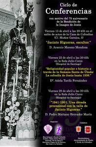 cartel de las conferencias de Jesus Nazareno