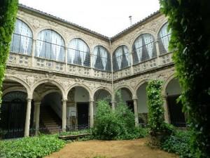 patio del palacio Marquesde la Rambla