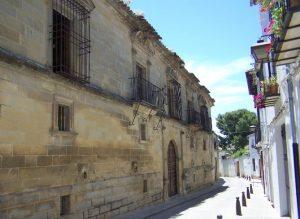 Palacio de los Medinilla úbeda 300x219 - Palacio de los Medinilla de Úbeda
