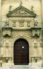 fachada SALVADOR CONTRA - Las Fachadas de la Sacra Capilla del Salvador