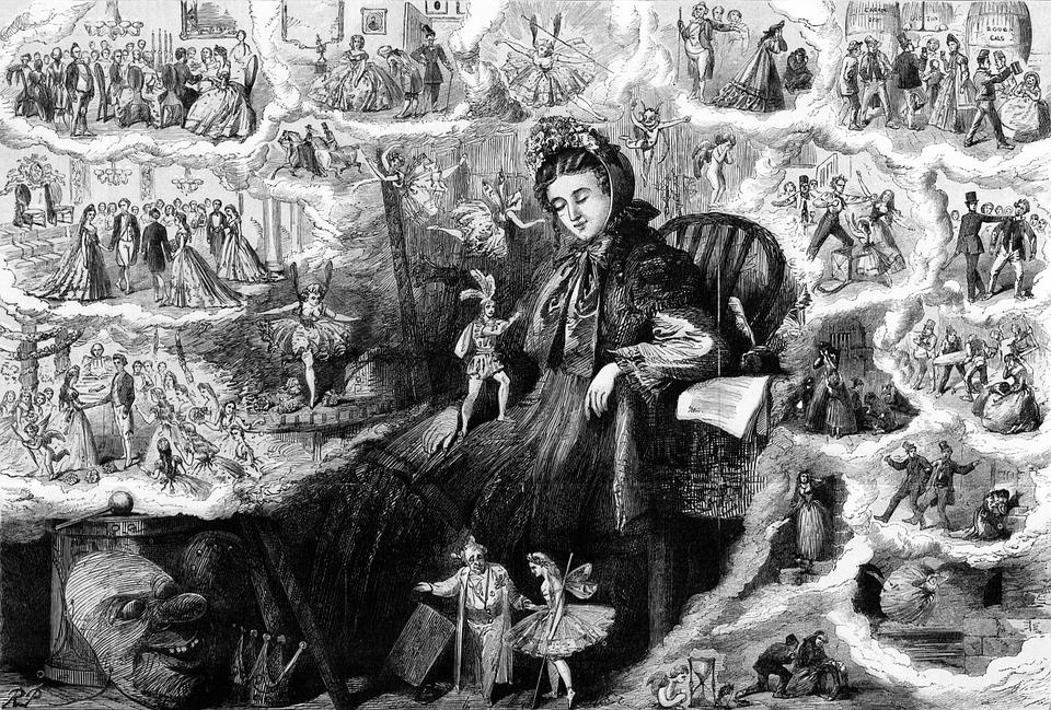 Mujer en el pasado
