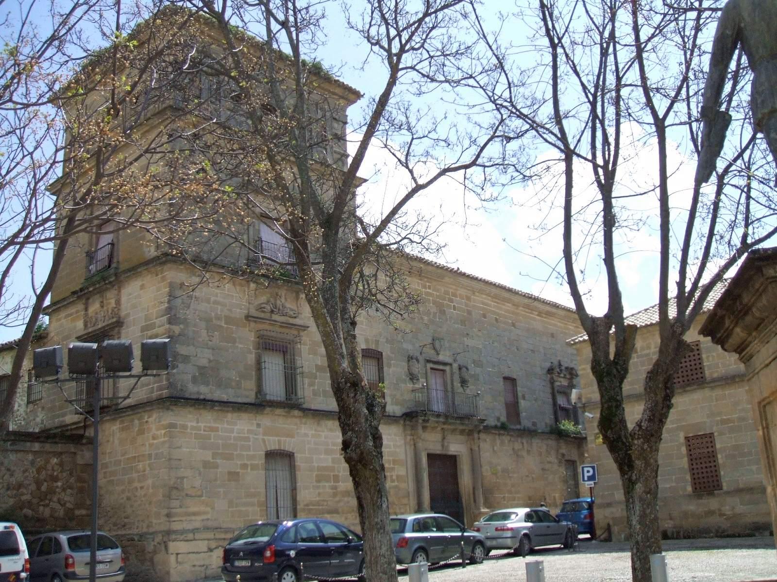 Fachada del Palacio Marqués de Mancera