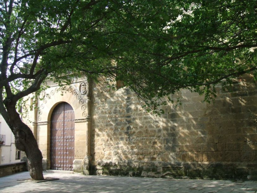 Puerta principal de la Iglesia de Santo Domingo