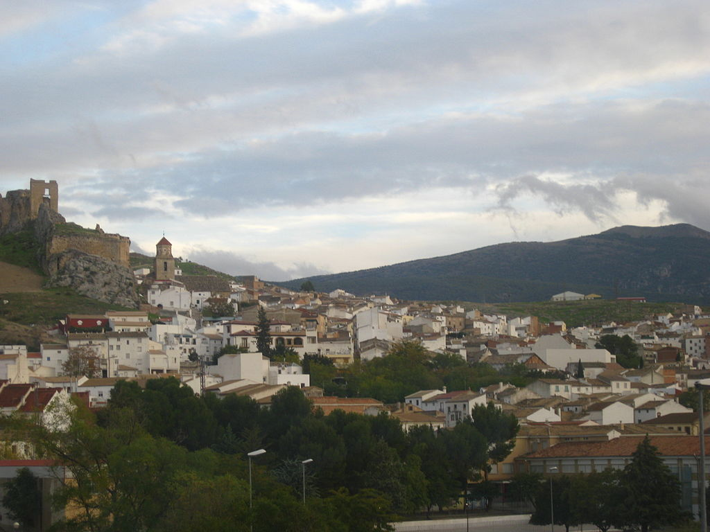 Imagen aerea de Bedmar