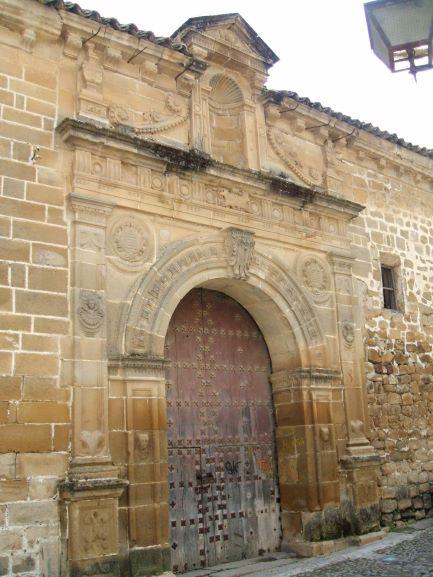 Fachada de la Iglesia de San Lorenzo de Úbeda