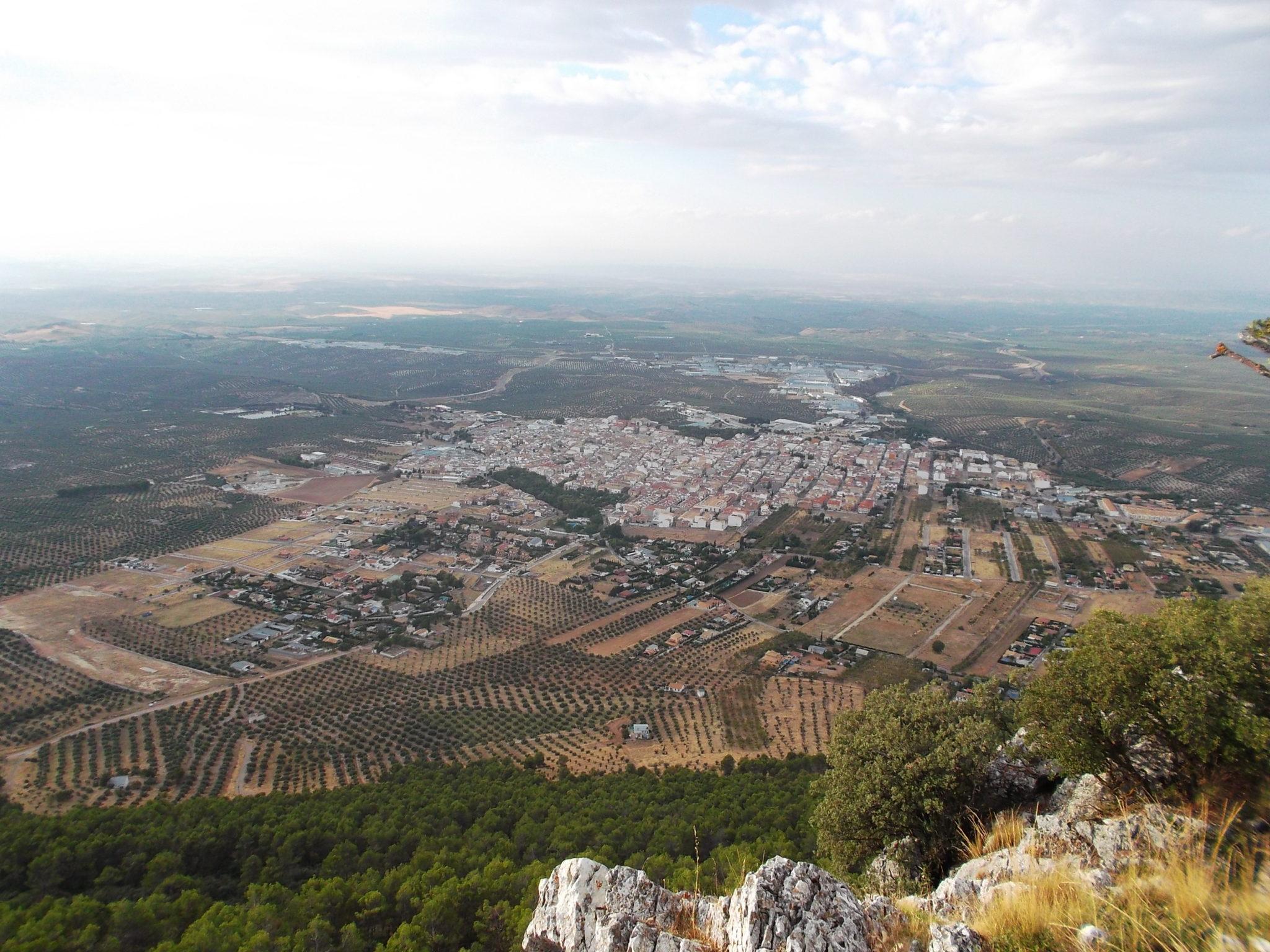 Imagen aerea de Mancha Real