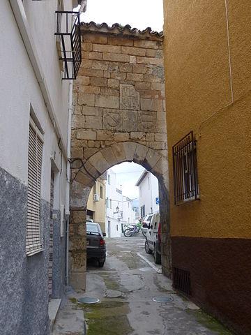 arco de la encarnacion - Pegalajar