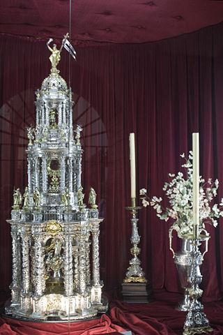 custodia de Baeza - El Corpus de Baeza